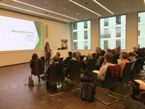 Denkatelier 2019 - Vortrag von Dr. Ellen Ueberschär